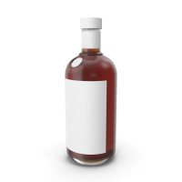 Cognac Bottle Mockup.H03.2k